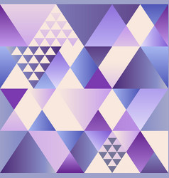 Ultra violet art deco seamless pattern vector