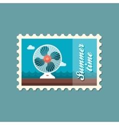 Ventilator stamp Summer Vacation vector image