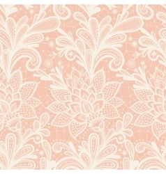 With vintage lace vector