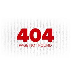 404 error web page oops error page vector image