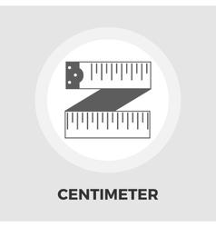 Centimetr flat icon vector