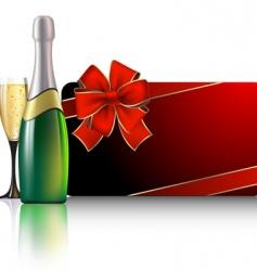celebrate card vector image