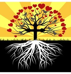Orthodox tree vector image vector image