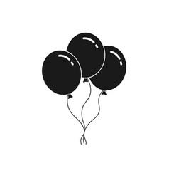 3 balloons vector image