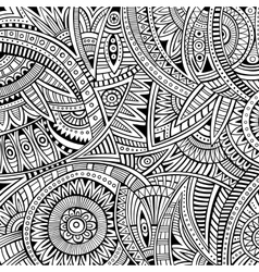 Abstract tribal ethnic background vector