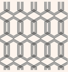 art deco geometric seamless pattern vector image
