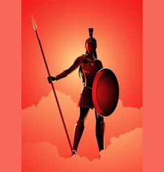 athena the goddess wisdom vector image