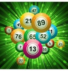 bingo explosion vector image