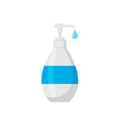 bottle soap icon isolated on white background vector image