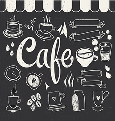Cafe Set vector