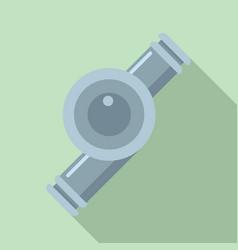 car turbine icon flat style vector image