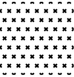 Cross patten background vector