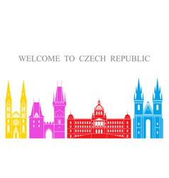 czech republic vector image