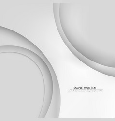 Grey template abstract background with vector