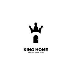King home logo template vector