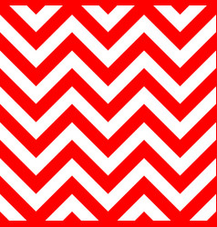 Red and white zigzag seamless pattern vector
