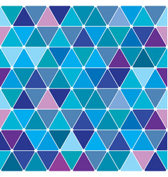 Winter triangle pattern 25 vector