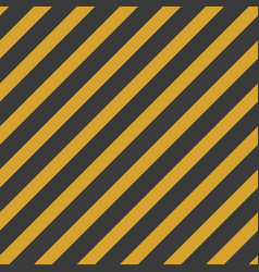 black and yellow stripe seamless pattern vector image vector image
