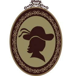 vintage shop sign vector image vector image