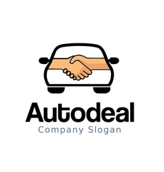Auto deal Design vector image