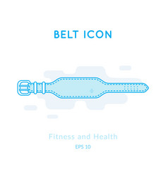 Belt for back protection vector
