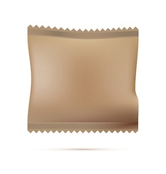 Blank Package on white background vector image