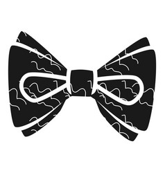 fashion bow tie icon simple style vector image
