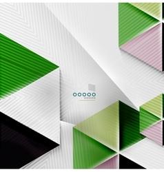 Hexagon business paper geometric shape vector