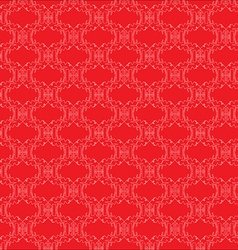 Pattern with abstract monkey vector image