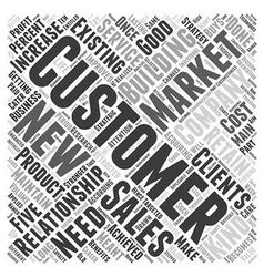 Relationship marketing word cloud concept vector