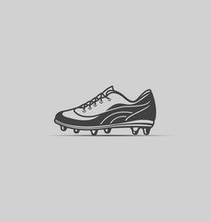 soccer boot icon vector image