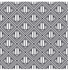 Vintage seamless art deco pattern template for vector