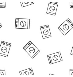 Washer sign seamless pattern background business vector