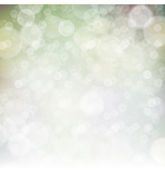 abstract spring bokeh background vector image