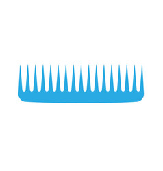 Comb hair icon isolated style brush barber female vector