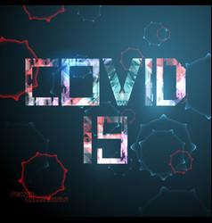 Covid19 19 corona virus scene vector