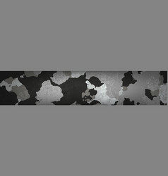 dirty military camouflage for background vector image