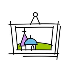 icon frame vector image