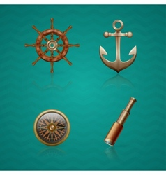 Icons Sea vector