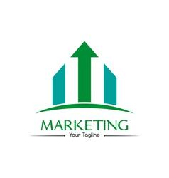 Marketing logo vector