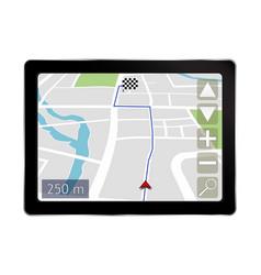 Navigation system vector