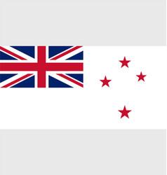 New zealand navy ensign vector