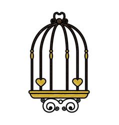 birdcage icon vector image