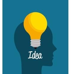 Creatives ideas graphic vector image