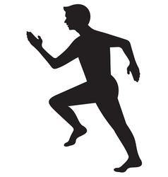 Running man4 vector image