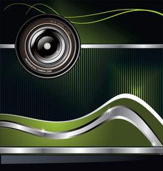 camera lens background vector image