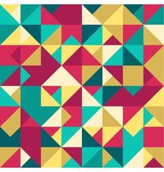 Abstract geometric seamless pattern modern texture vector