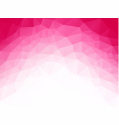 geometric pink white love background vector image