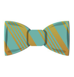 hipster bowtie icon cartoon style vector image