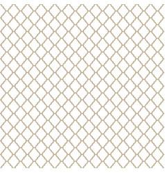 Monochrome moroccan motif tile pattern vector